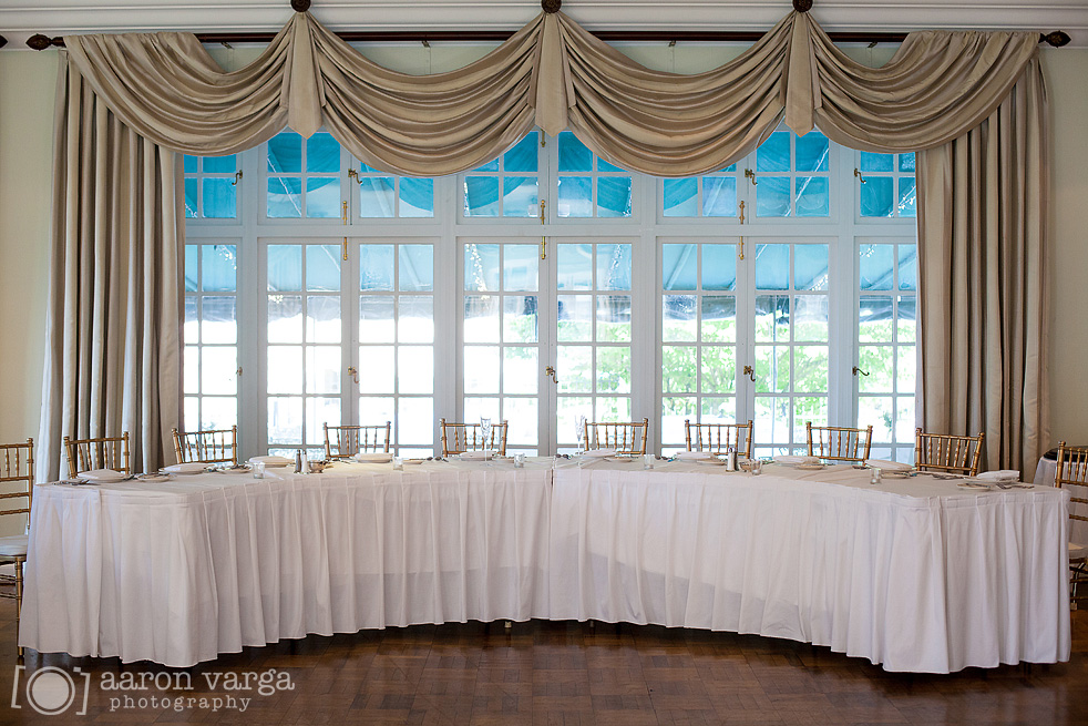 40 Head Table Wedding Reception