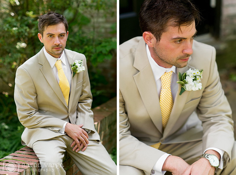 yellow tie and tan suit | Aaron Varga Photography | Pittsburgh ...
