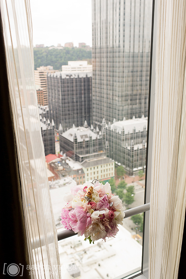 08  - pink white wedding bouquet