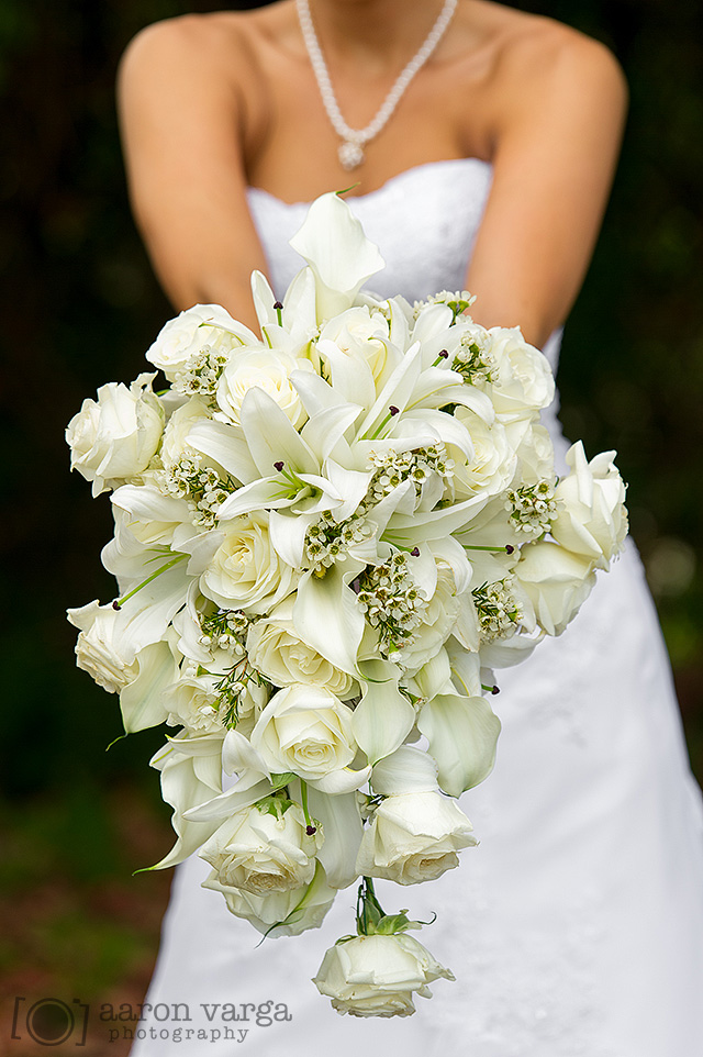 20  - ivory wedding flowers