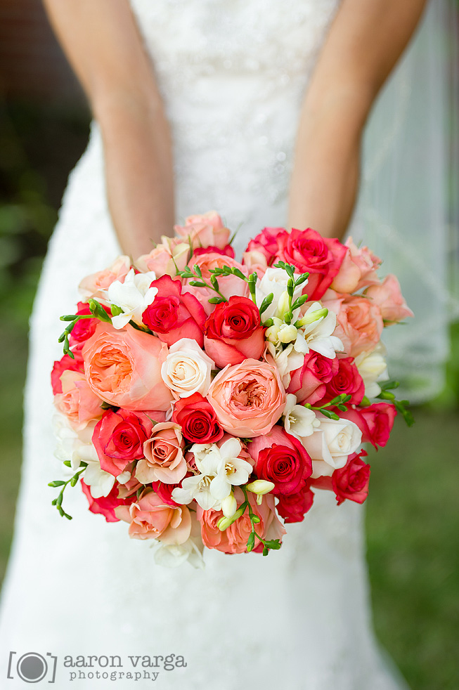 Coral Pink Wedding Bouquets: Elegant fall wedding colors once wed ...
