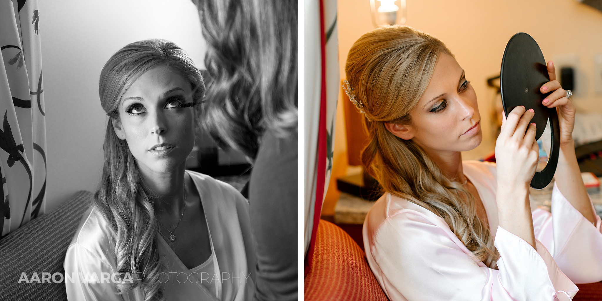 04 bride getting ready mirror - Gina + Chris | Oglebay Resort Wedding Photos