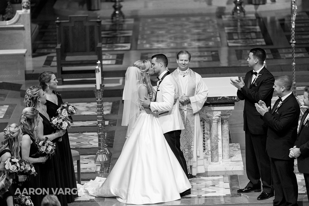 10 st joseph cathedral wheeling - Gina + Chris | Oglebay Resort Wedding Photos