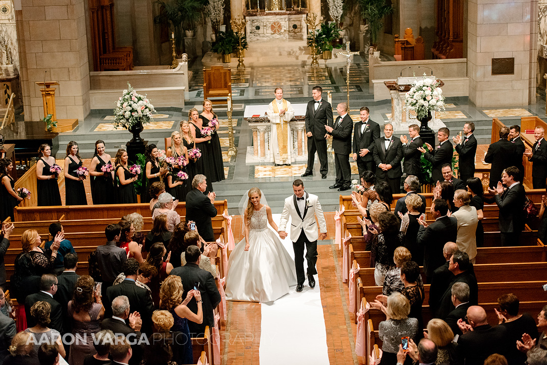 11 st joseph cathedral wedding wheeling - Gina + Chris | Oglebay Resort Wedding Photos