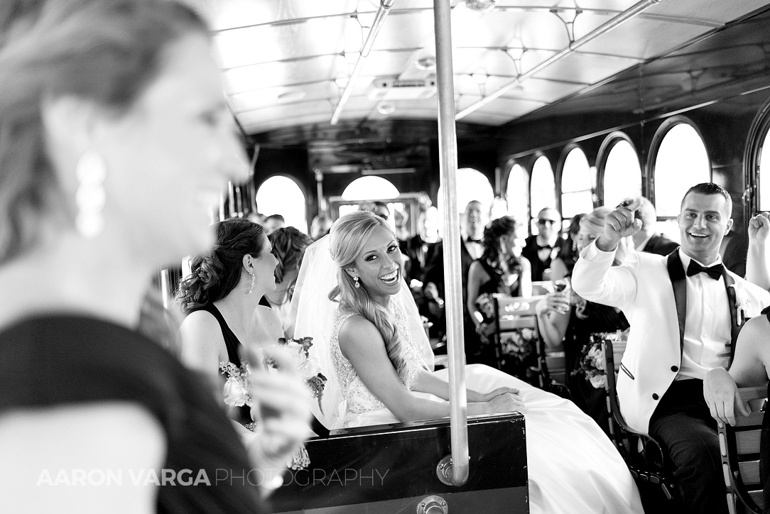 13 oglebay trolley wedding - Gina + Chris | Oglebay Resort Wedding Photos