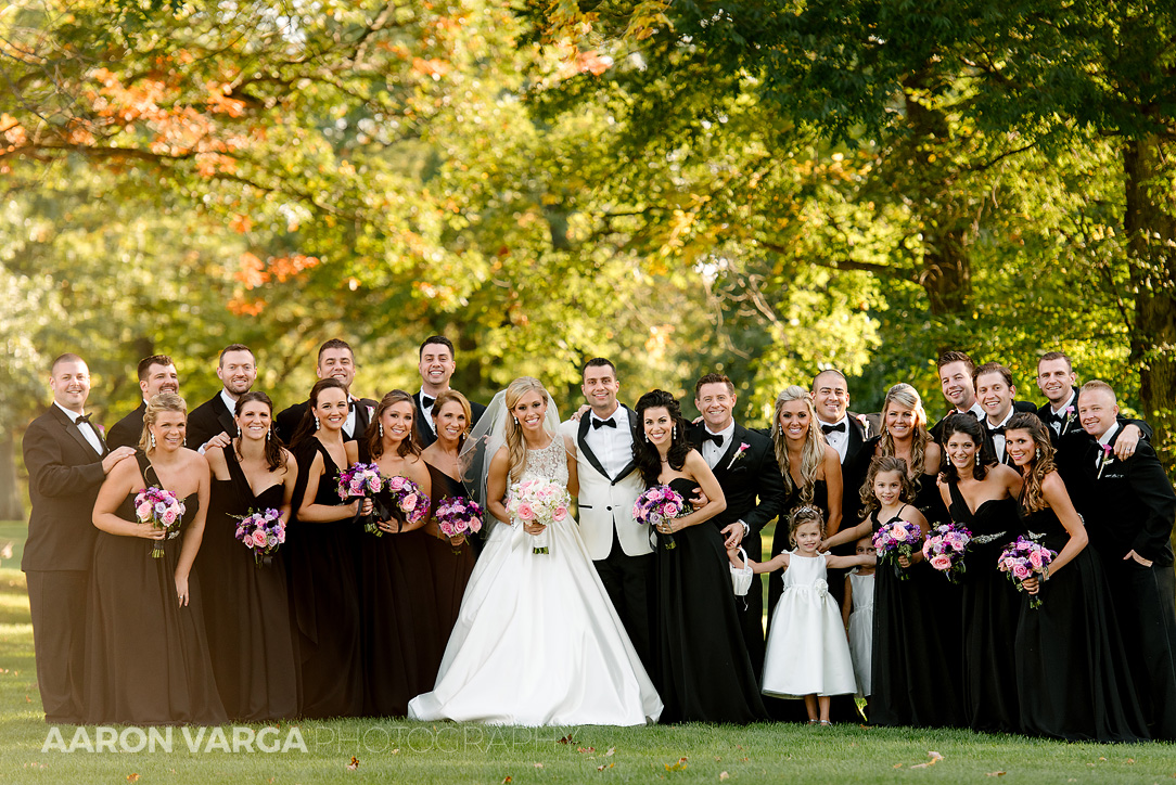 15 black bridesmaid dresses - Gina + Chris | Oglebay Resort Wedding Photos