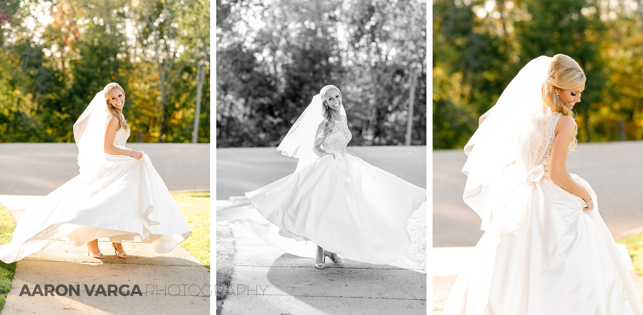 18 bride twirling dress - Gina + Chris | Oglebay Resort Wedding Photos