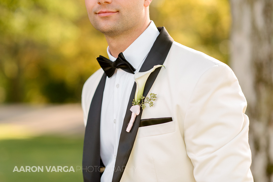 21 groom ivory tuxedo - Gina + Chris | Oglebay Resort Wedding Photos