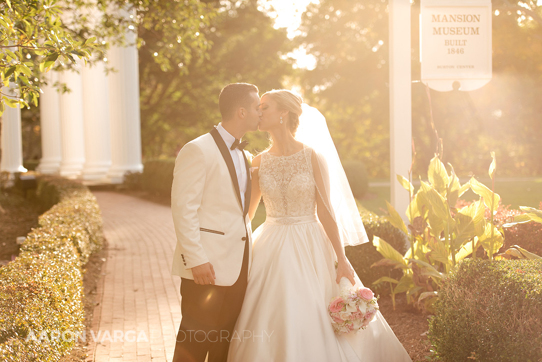 30 sunset photo oglebay - Gina + Chris | Oglebay Resort Wedding Photos