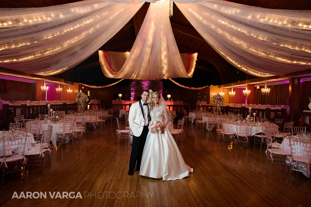 36 pink reception room lighting oglebay - Gina + Chris | Oglebay Resort Wedding Photos