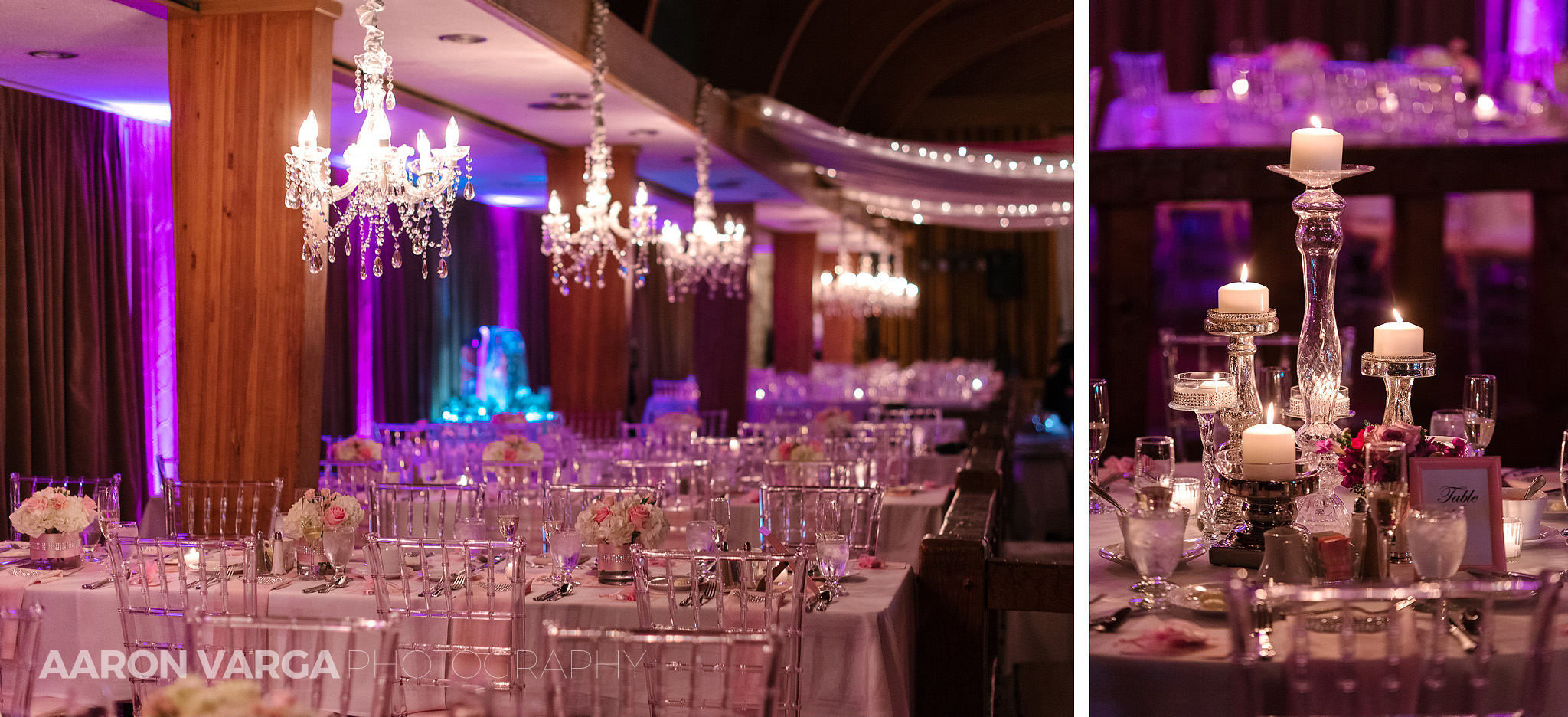 40 pink purple wedding reception details - Gina + Chris | Oglebay Resort Wedding Photos
