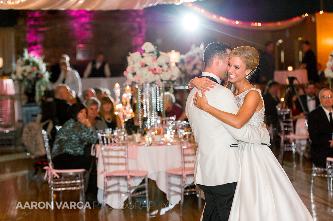42 oglebay glessner ballroom first dance - Gina + Chris | Oglebay Resort Wedding Photos