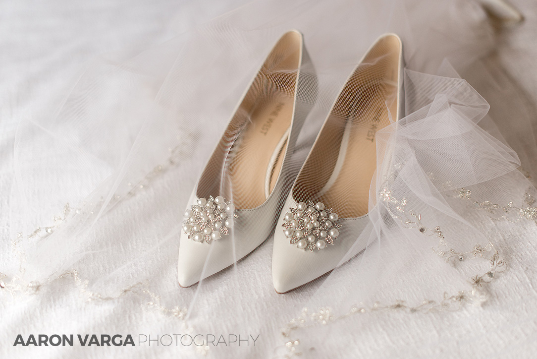 02 Ivory Nine West Wedding Shoes Aaron Varga Photography Pittsburgh Photographers Blog Photo