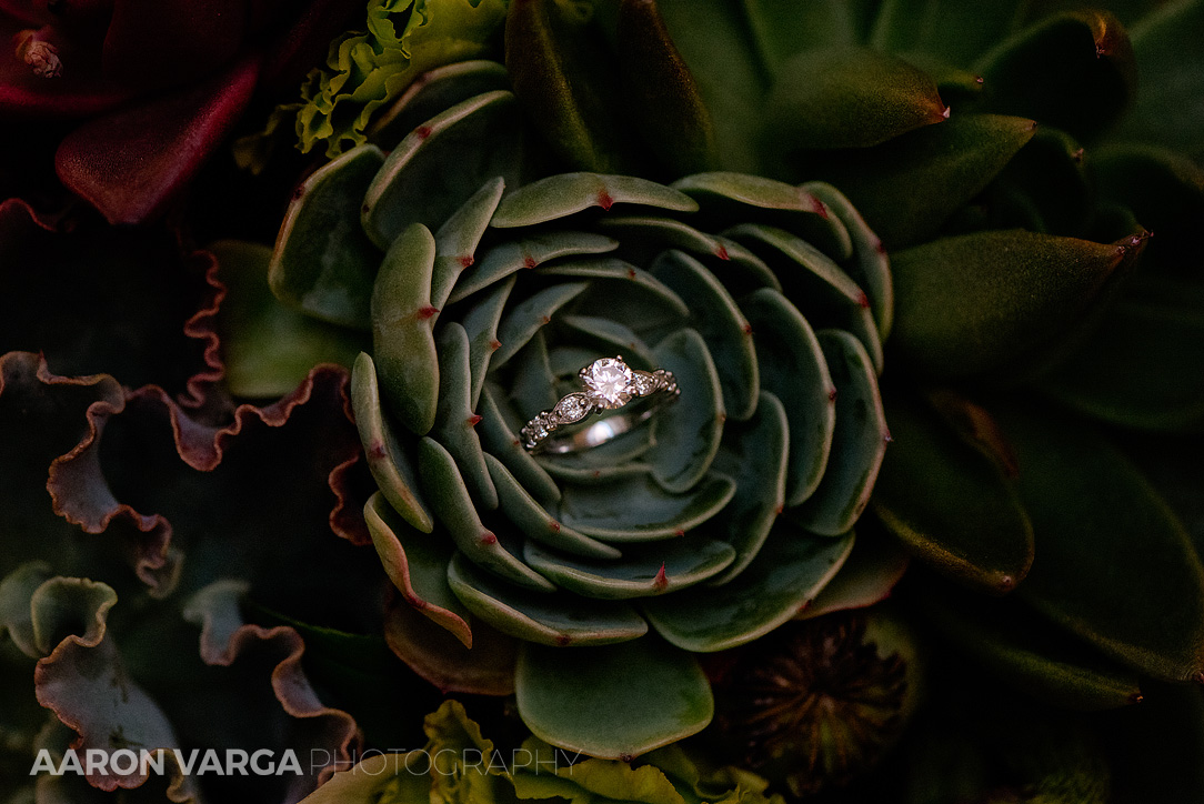 06 succulent floral bouquet wedding - Mimi + Mike | Hotel Monaco and J. Verno Studios Wedding Photos