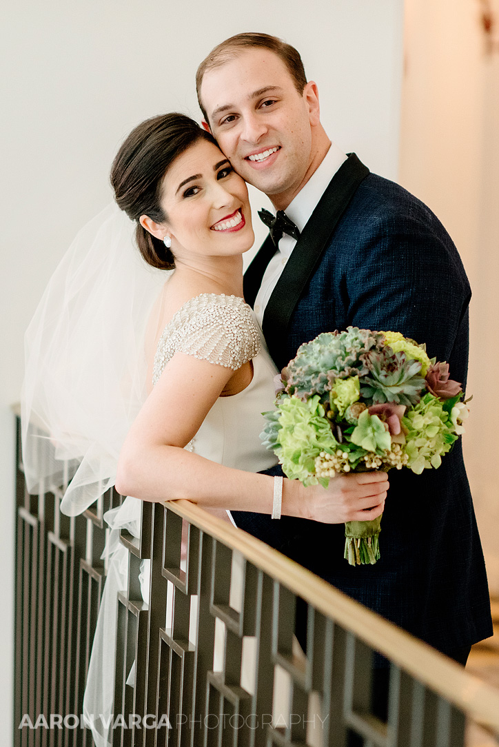 13 bride groom portrait hotel monaco wedding - Mimi + Mike | Hotel Monaco and J. Verno Studios Wedding Photos
