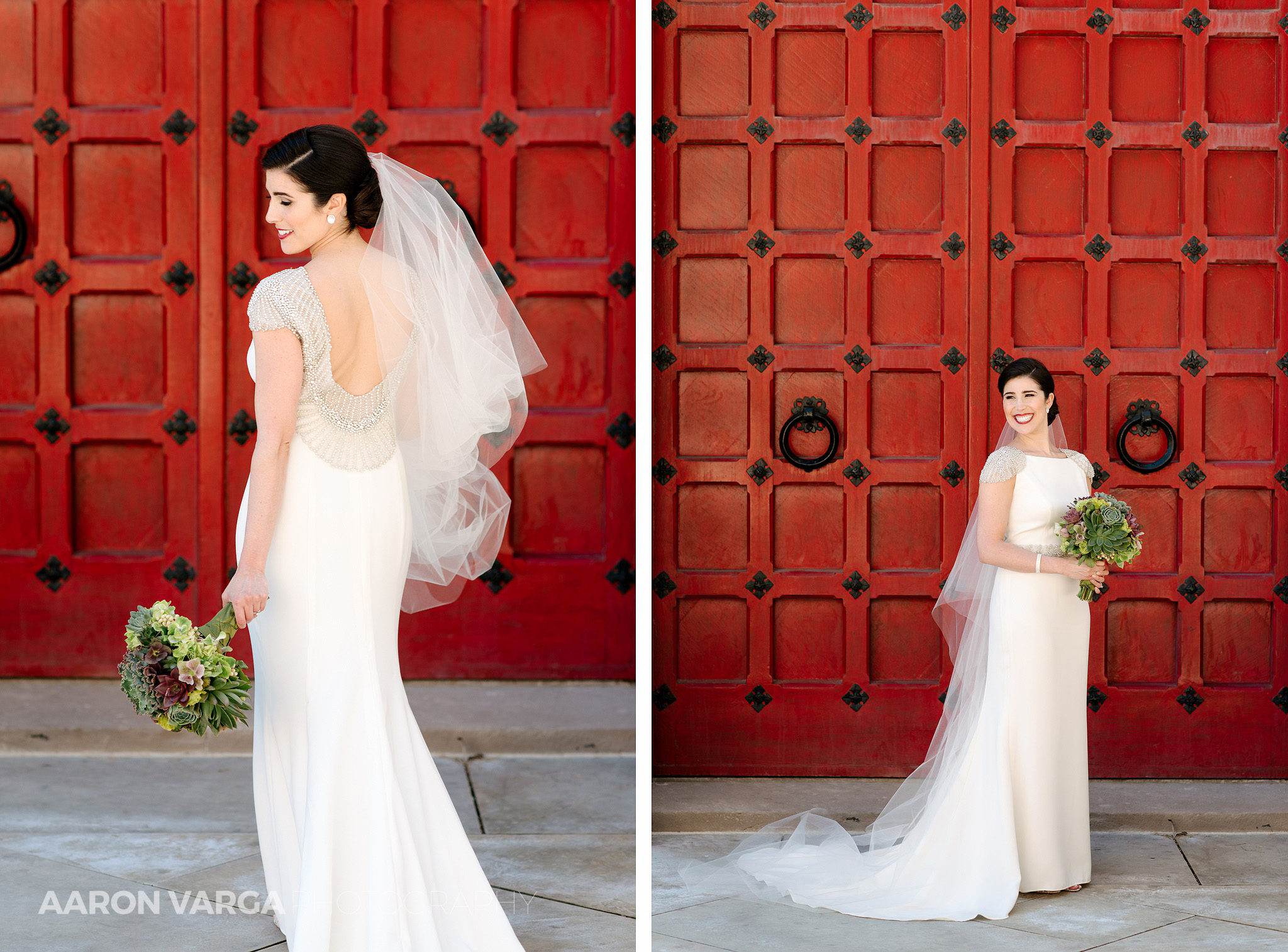18 bridal portrait red door pittsburgh - Mimi + Mike | Hotel Monaco and J. Verno Studios Wedding Photos