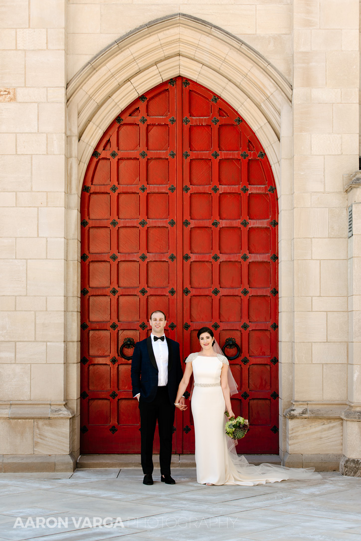 19 bride groom red door pitt university - Mimi + Mike | Hotel Monaco and J. Verno Studios Wedding Photos