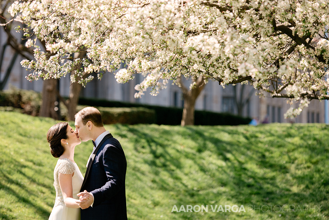 24 spring cherry blossom trees wedding - Mimi + Mike | Hotel Monaco and J. Verno Studios Wedding Photos