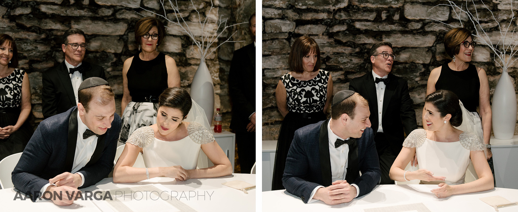 28 ketubah signing wedding - Mimi + Mike | Hotel Monaco and J. Verno Studios Wedding Photos