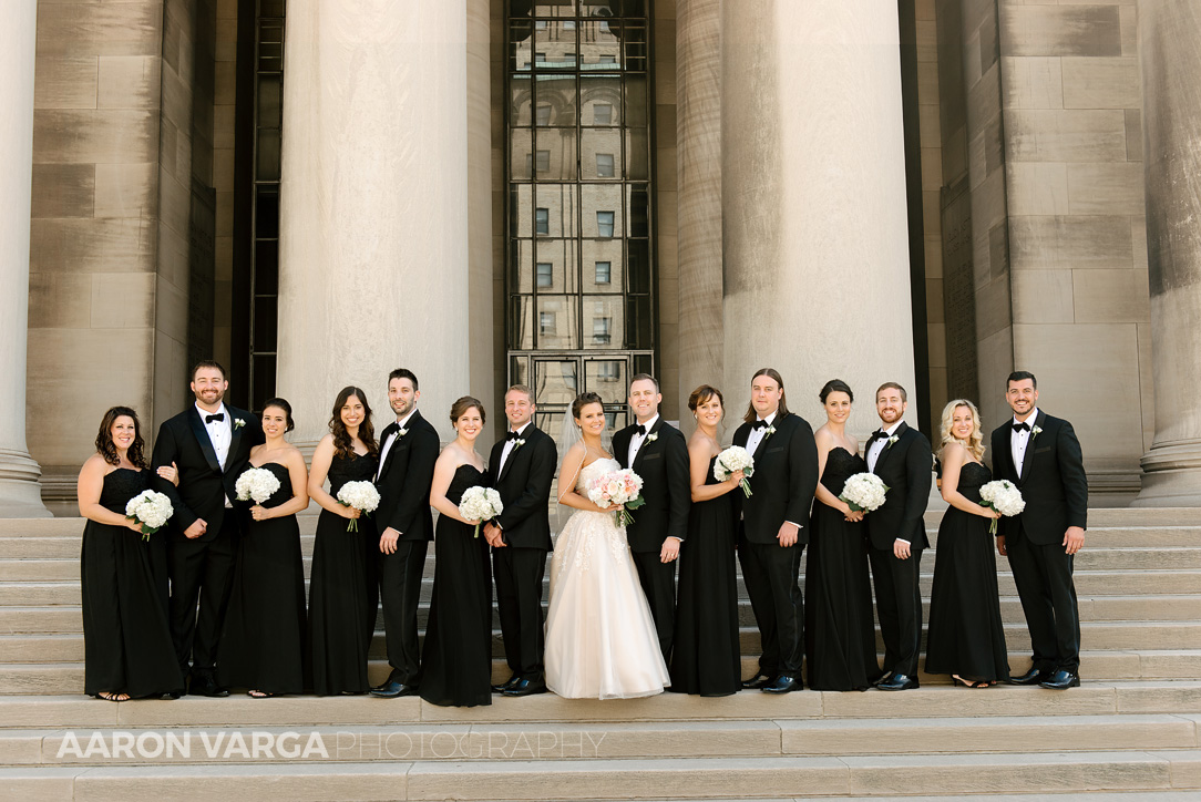 10 mellon institute wedding bridal party - Dina + Brendan | Southpointe Golf Club Wedding Photos