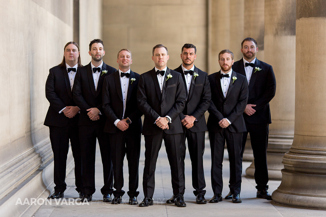 14 mellon institute wedding groomsmen - Dina + Brendan | Southpointe Golf Club Wedding Photos