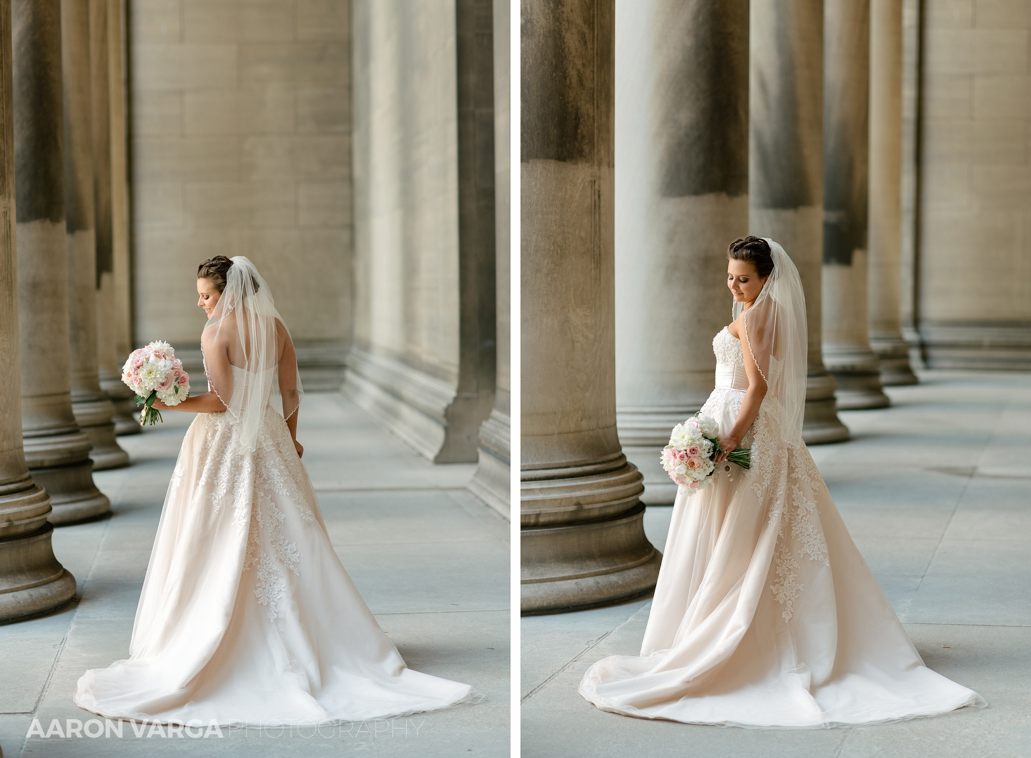 17 mellon institute bride - Dina + Brendan | Southpointe Golf Club Wedding Photos