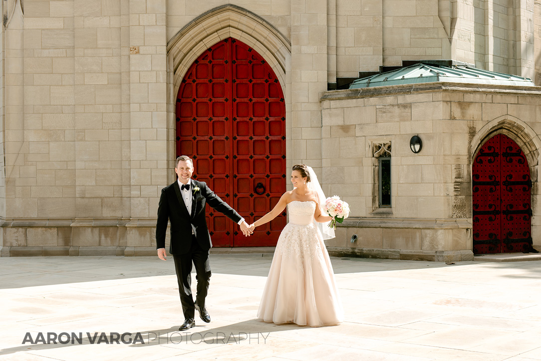 31 cathedral of learning red door wedding - Dina + Brendan | Southpointe Golf Club Wedding Photos