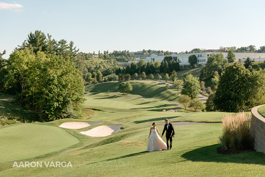 37 southpointe golf course - Dina + Brendan | Southpointe Golf Club Wedding Photos