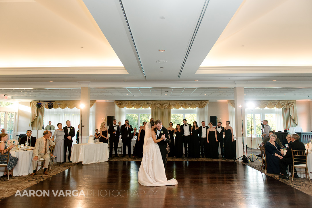 44 southpointe golf club first dance photo - Dina + Brendan | Southpointe Golf Club Wedding Photos