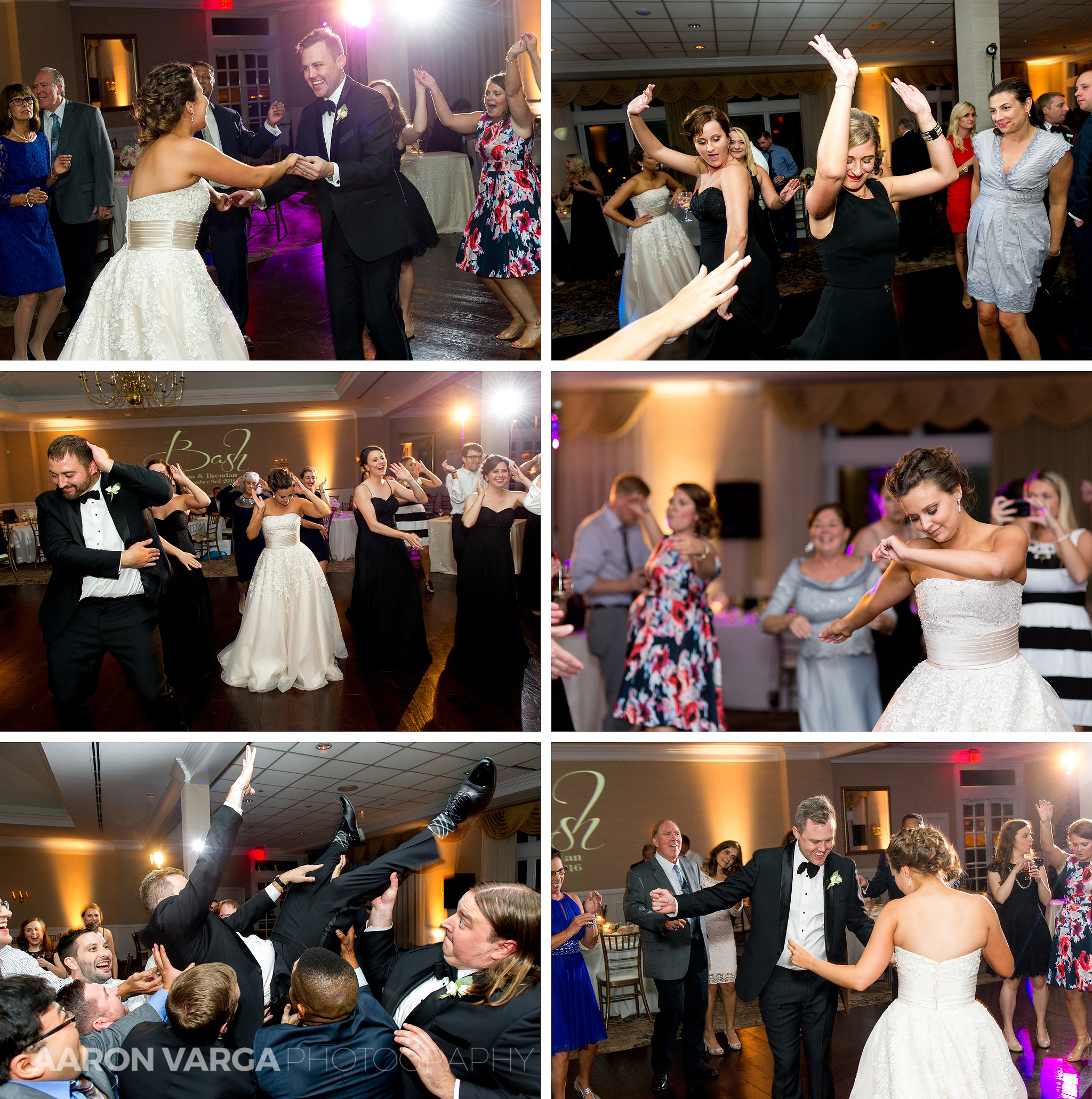 45 southpointe golf club wedding reception dancing - Dina + Brendan | Southpointe Golf Club Wedding Photos