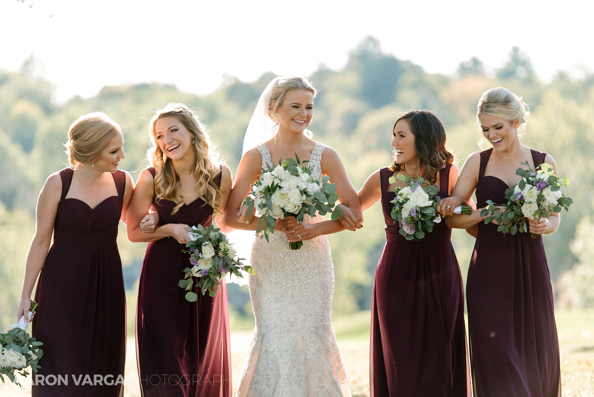 31 happy bridesmaids - Amy + Bill | Montour Heights Country Club Wedding Photos