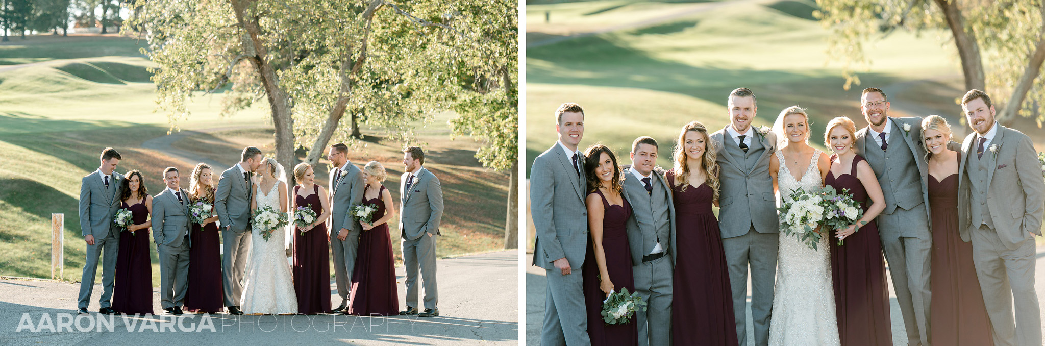 36 montour heights country club bridal party photos - Amy + Bill | Montour Heights Country Club Wedding Photos