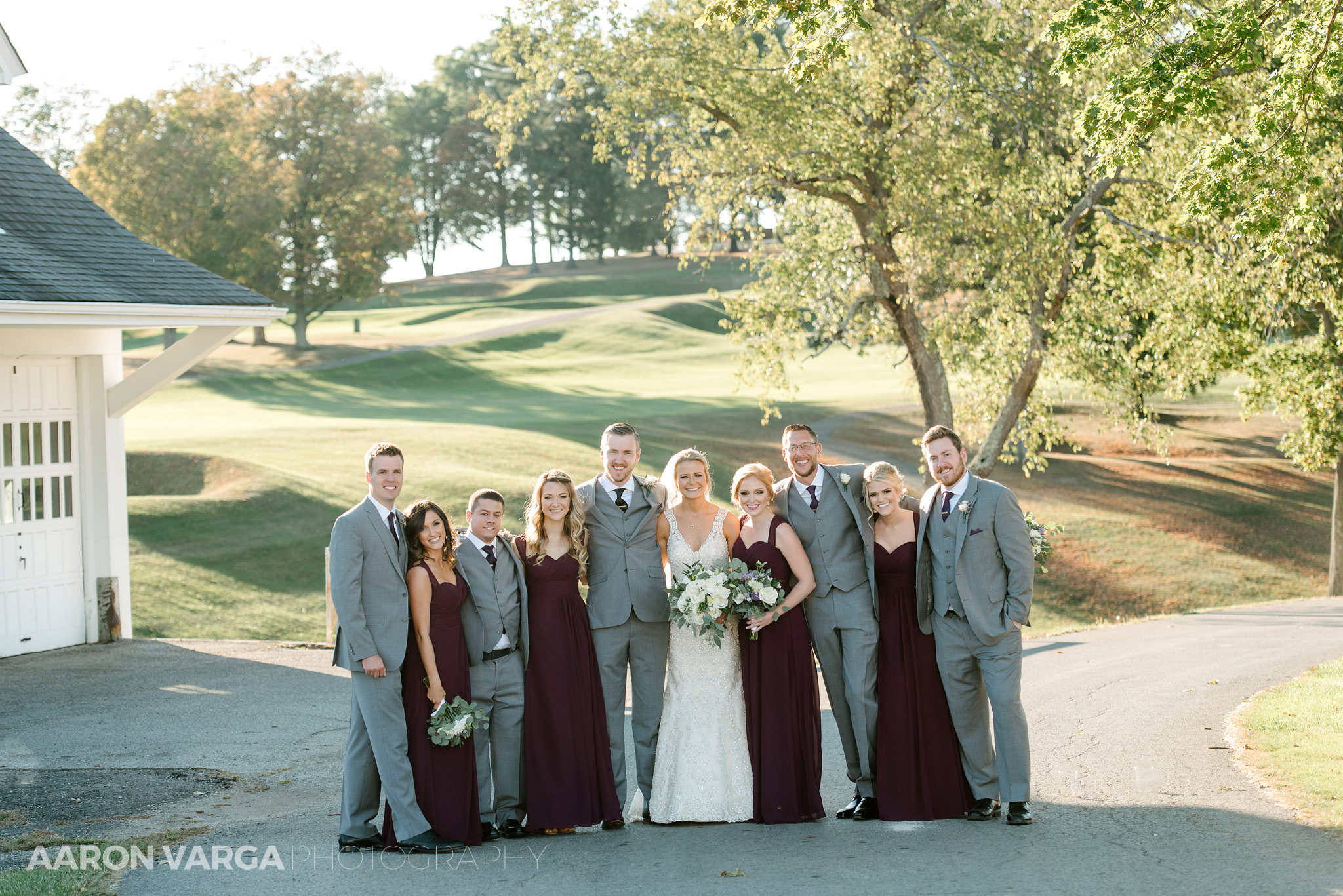 37 montour heights country club wedding bridal party - Amy + Bill | Montour Heights Country Club Wedding Photos