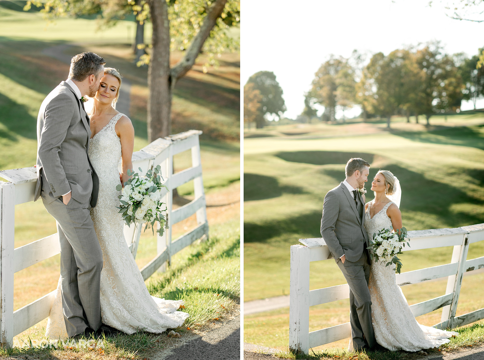44 montour heights country club wedding fall - Amy + Bill | Montour Heights Country Club Wedding Photos