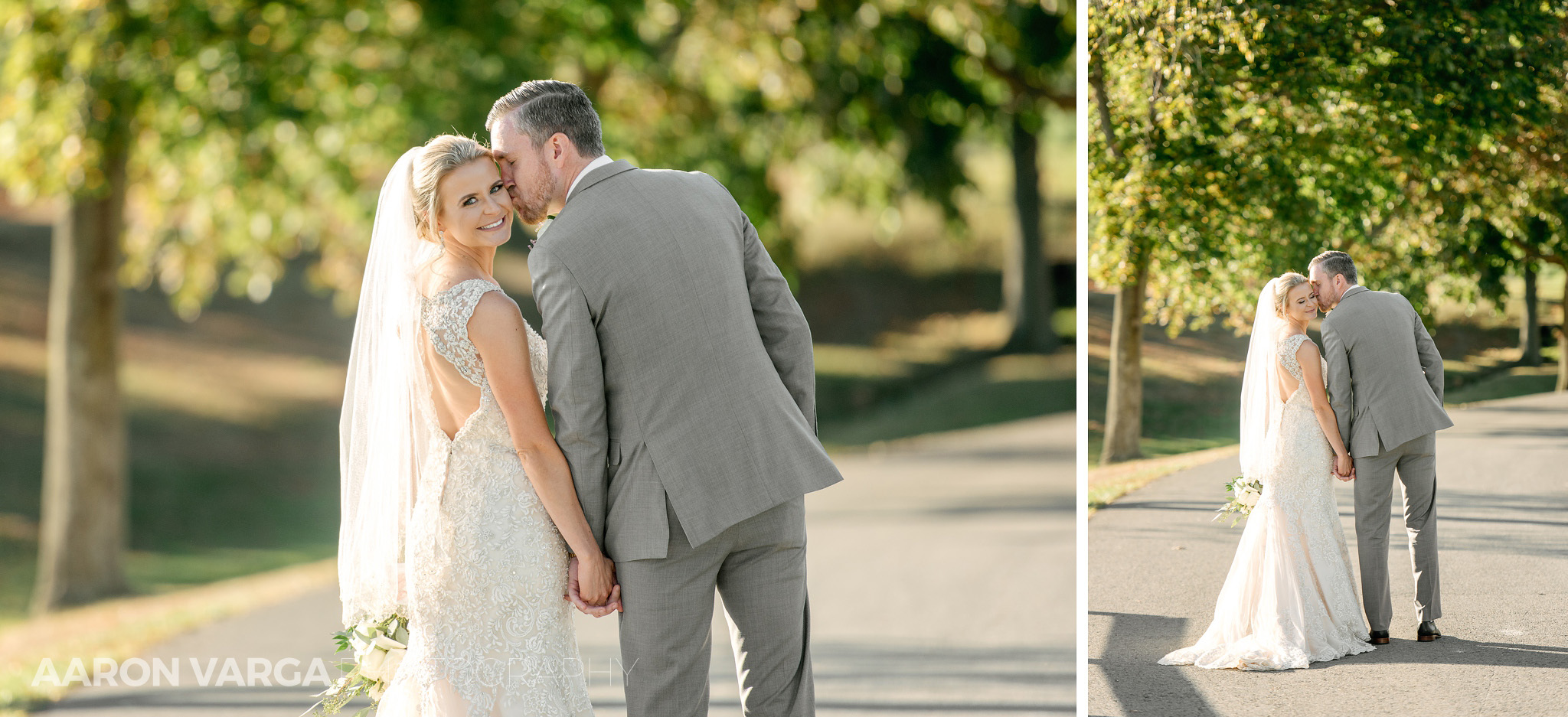 47 bride groom walking country club - Amy + Bill | Montour Heights Country Club Wedding Photos