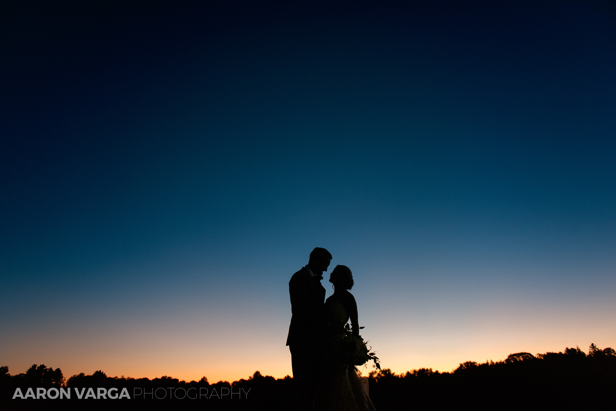 59 montour heights country club silhouette photo wedding - Amy + Bill | Montour Heights Country Club Wedding Photos
