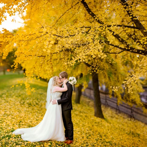 fall pittsburgh wedding