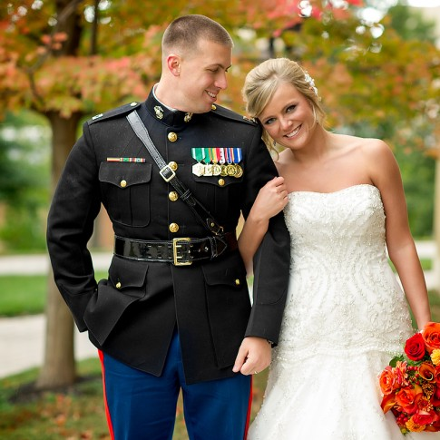 military-wedding-marines