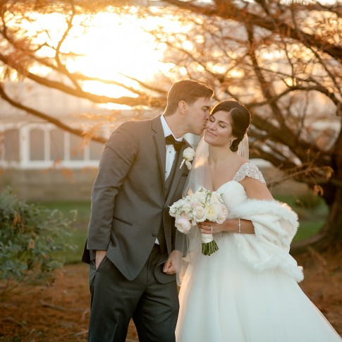 phipps conservatory winter wedding