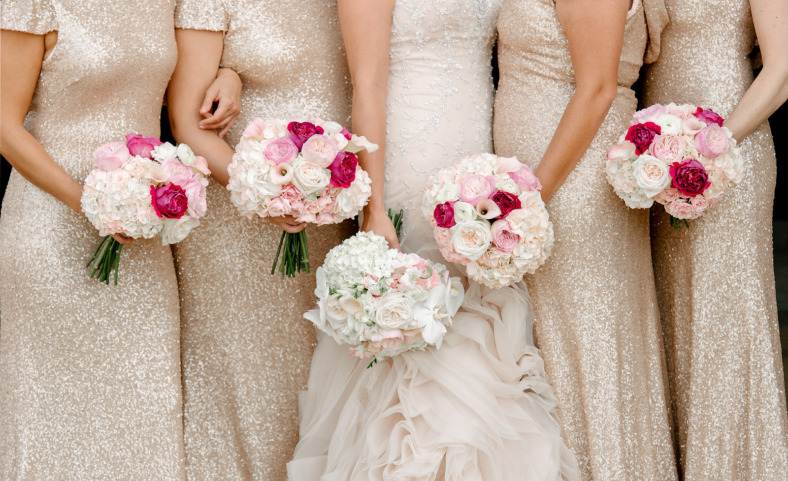 pink wedding bouquets - Home