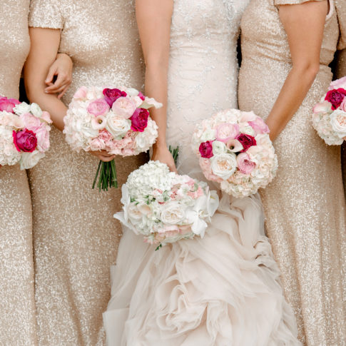 Blush Bridesmaid Dresses | Pittsburgh Wedding Photographers | Aaron Varga Photography