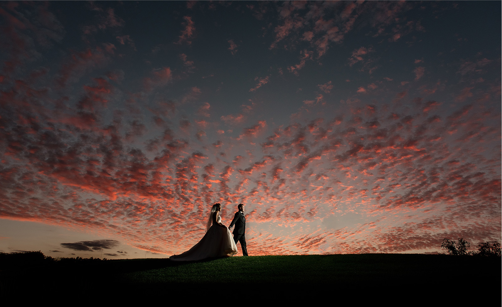 sunset wedding photo southpointe golf club wedding - Home