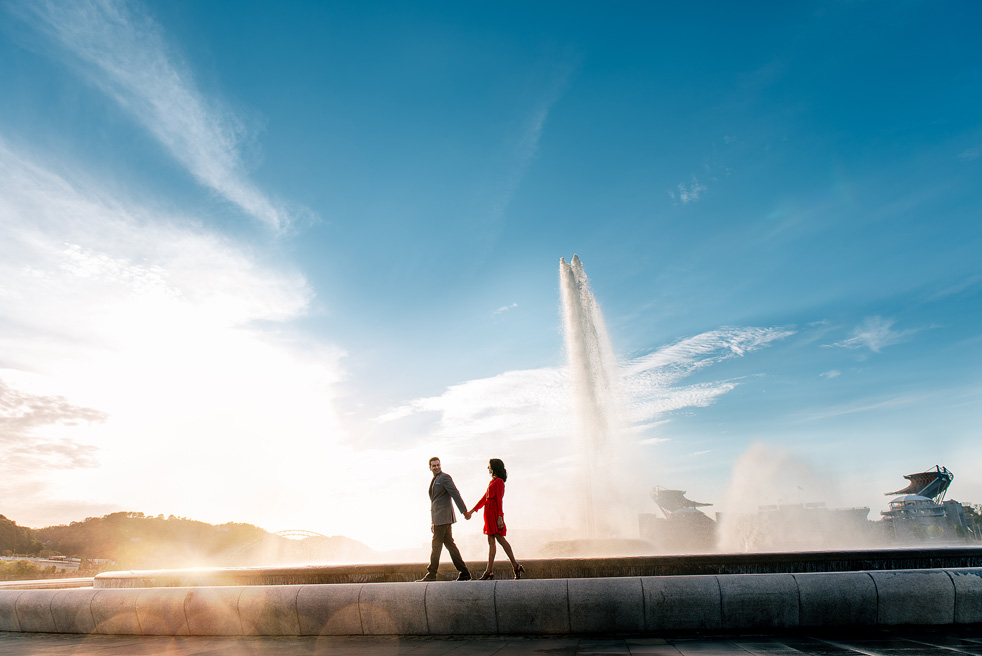 Point State Park Fountain Engagement - Reviews
