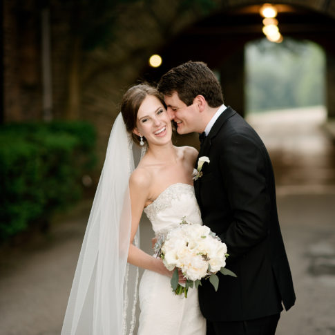 beautiful bride longue vue club wedding 485x485 - Longue Vue Club Wedding | Real Wedding | Megan + Robert