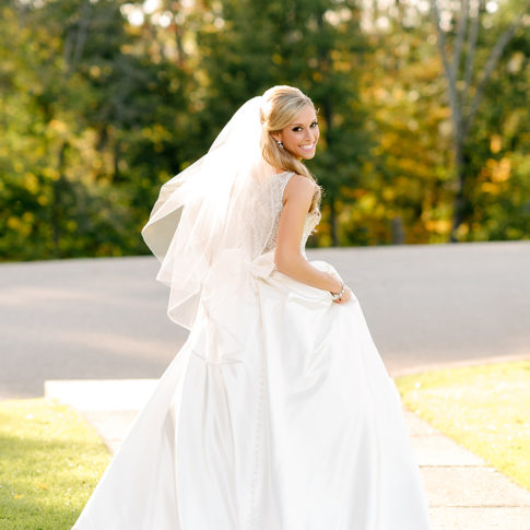 bride twirling dress oglebay
