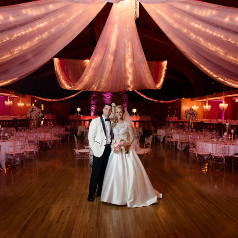 extravagant wedding details reception