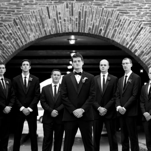 groomsmen longue vue club 485x485 - Longue Vue Club Wedding | Real Wedding | Megan + Robert