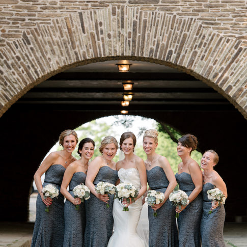 longue vue club gray bridesmaid dresses wedding 485x485 - Longue Vue Club Wedding | Real Wedding | Megan + Robert