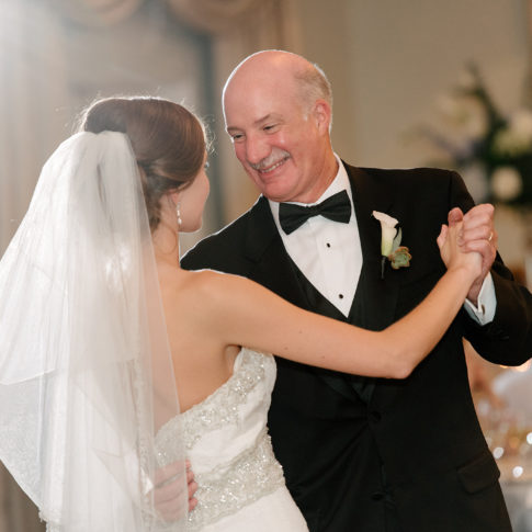 longue vue club wedding father first dance 485x485 - Longue Vue Club Wedding | Real Wedding | Megan + Robert