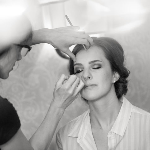 professional makeup bride 485x485 - Longue Vue Club Wedding | Real Wedding | Megan + Robert